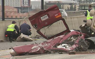 Dos hombres murieron en un accidente cuando huían de la policía