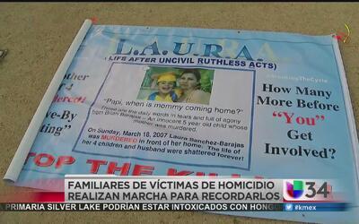 Familiares de víctimas de homicidios exigen un alto a la violencia