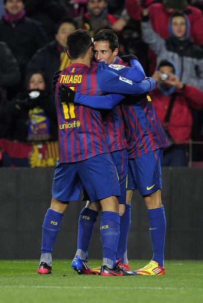 El descuento de la Real lo anotó el mexicano Carlos Vela. Barcelo...