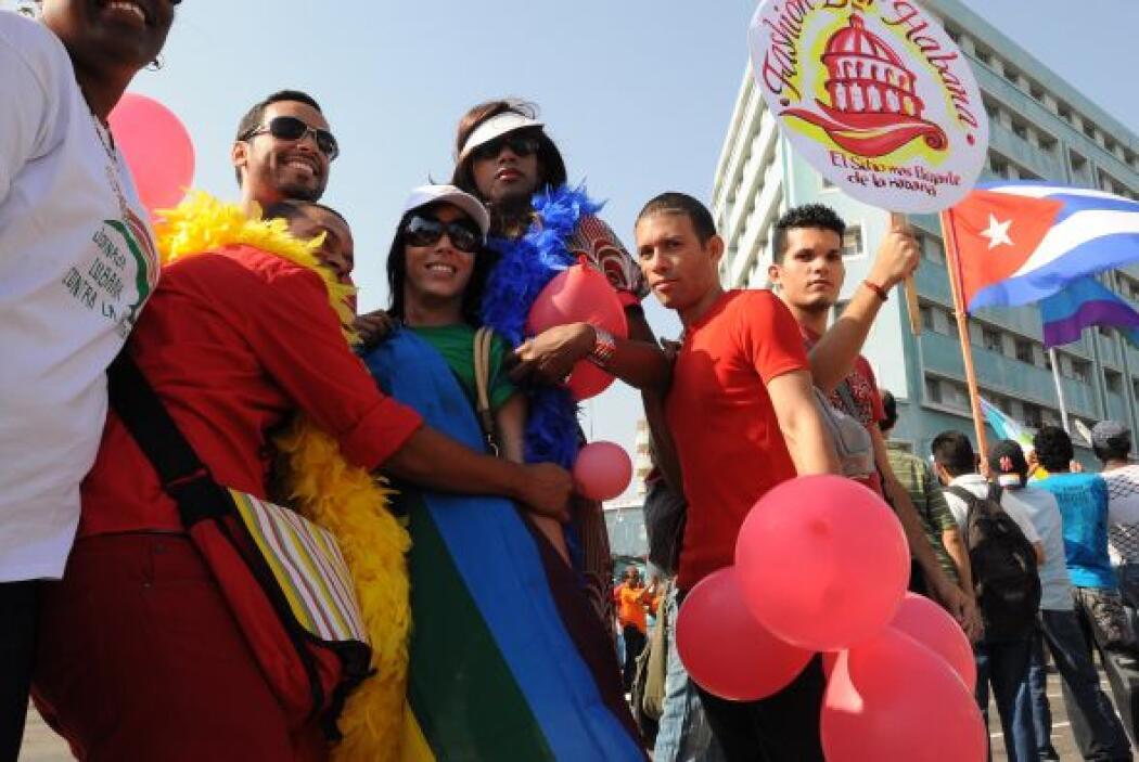 Ante esta imagen de tradicionalismo, una marcha como esta resalta en la...