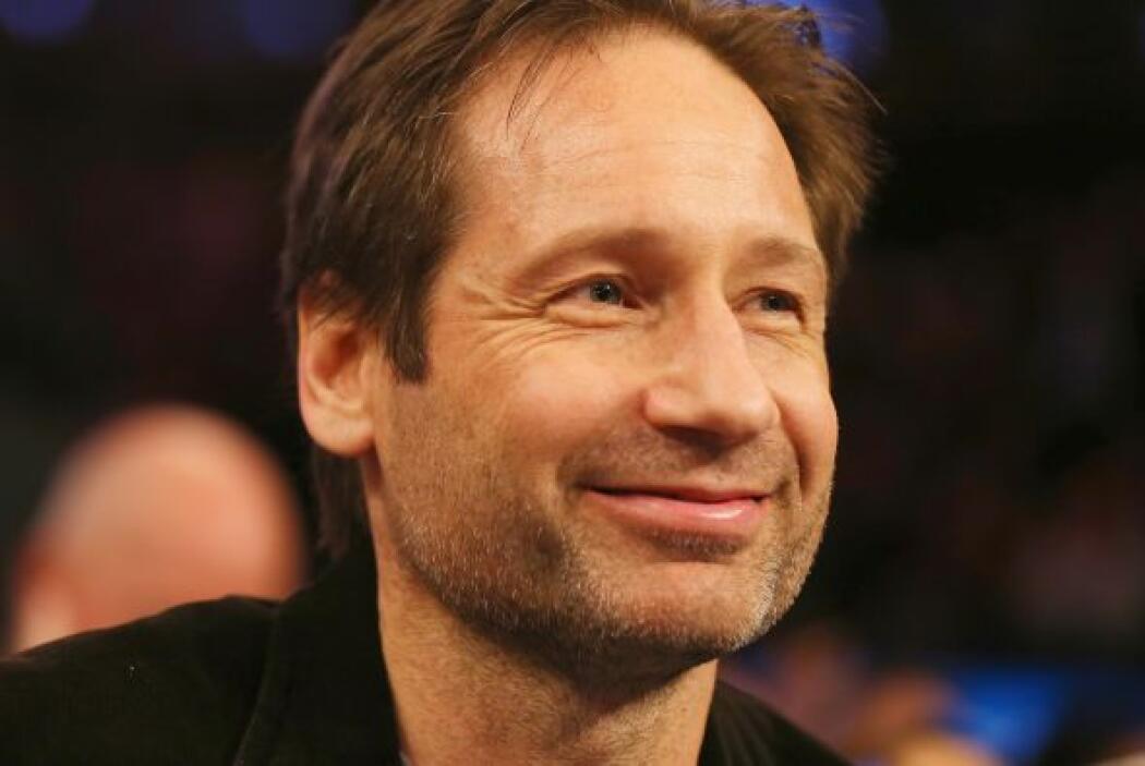 """David Duchovny, protagonista de The X Files   """"Mulder"""", quien tiene una..."""