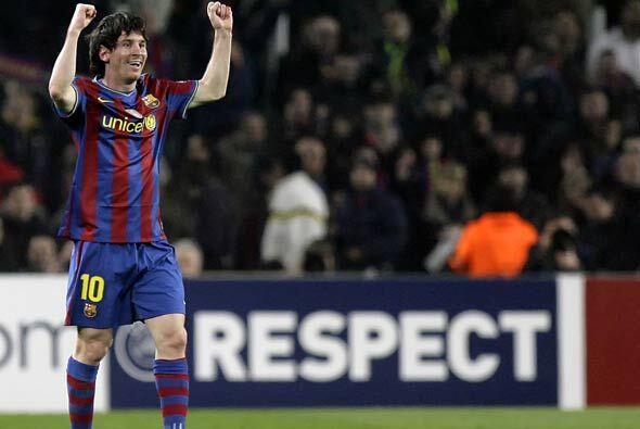 Bojan cerrpo la cuenta para el 4-0 definitivo, pero Messi fue la figura...