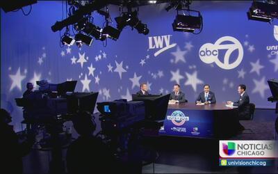Presentación de candidatos al congreso por el distrito 8 de Illinois
