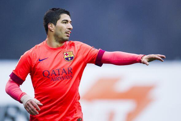 Luis Suárez buscó también ser peligroso en ataque p...
