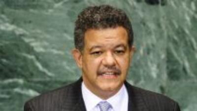 El presidente de República Dominicana, Leonel Fernández, pidió en Ginebr...