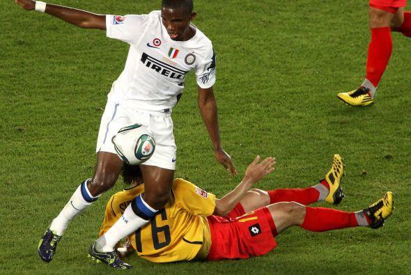 Samuel Eto'o fue de los jugadores que tuvieron mayor desgaste.