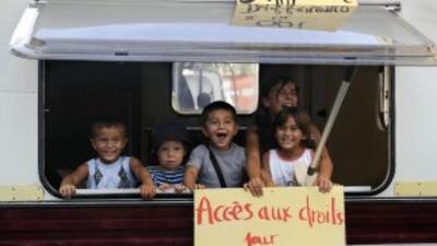 La política migratoria del presidente francés Nicolas Sarkozy es compara...