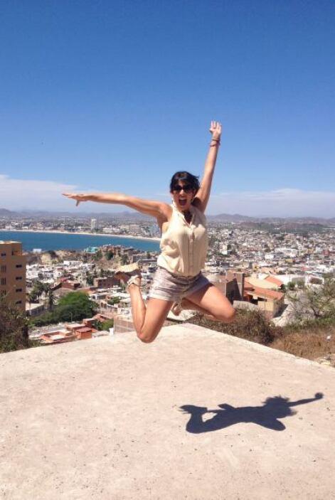 Maity Interiano estuvo de visita en Mazatlán con motivo de los Premios O...
