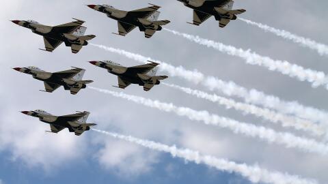 Thunderbirds de la Fuerza Aérea de Estados Unidos