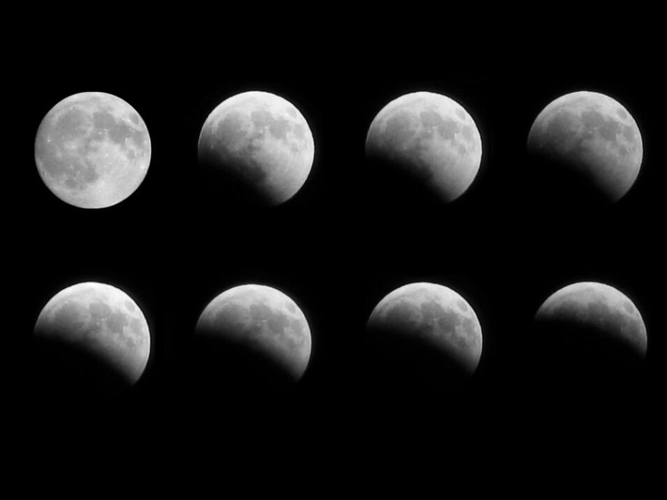 A continuación las próximas fechas de las fases de la Luna...