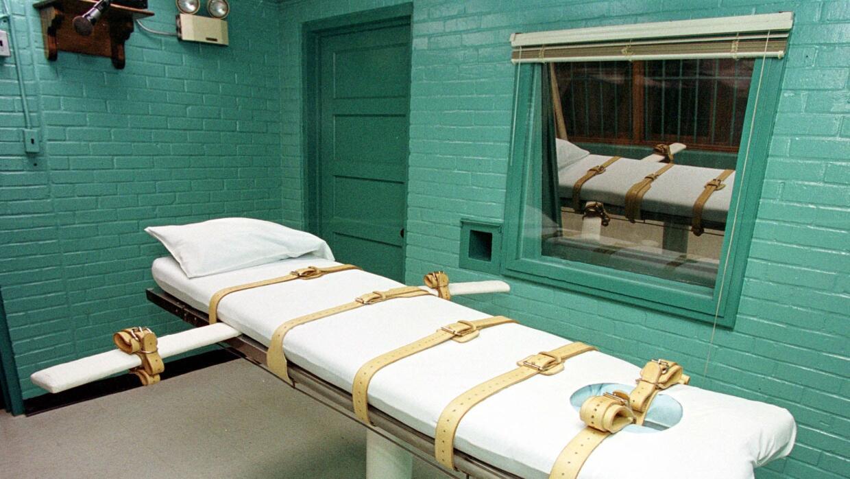 Cámara de inyección letal-Imagen de archivo