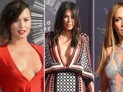 Ahora sí que en esta gala vimos los encantos de las celebridades....