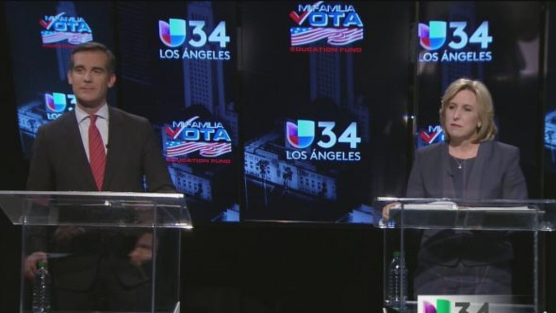 Reviva lo mejor del primer debate en español entre candidatos a la alcal...