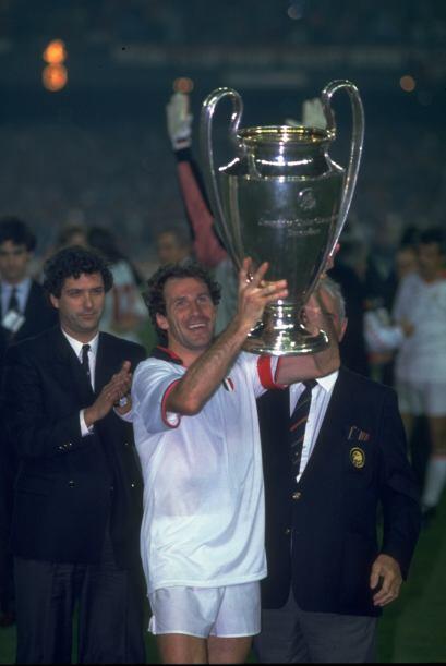 En 1990 se repitió el campeón. Milan era una máquin...