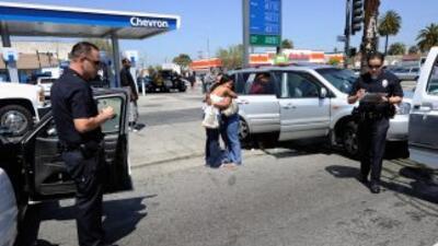 Tres de los pasajeros de la camioneta murieron en el lugar y uno más fal...