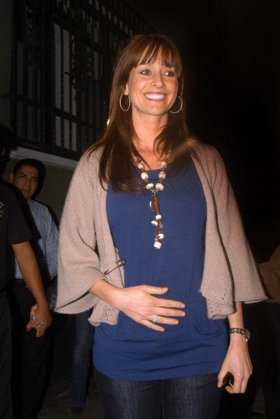 Aunque estaba envuelta en la polémica por su embarazo, la actriz nunca d...
