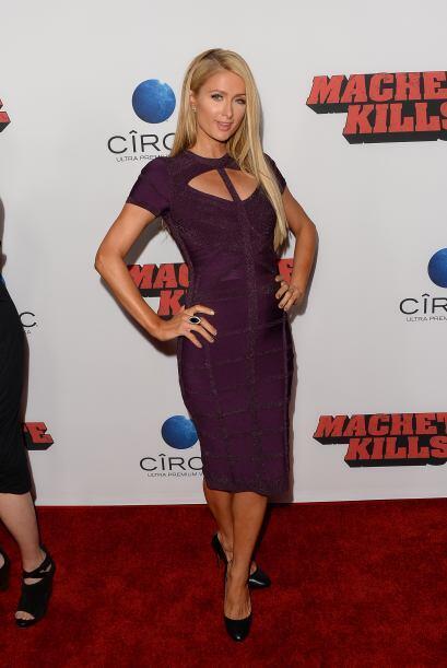 Hace mucho que no veíamos a Paris Hilton y fue Machete quien llam...