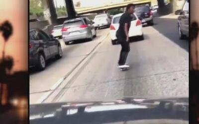Moda peligrosa entre jóvenes patinadores de California