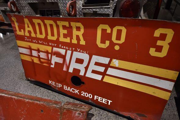 Y los de un coche de bomberos.