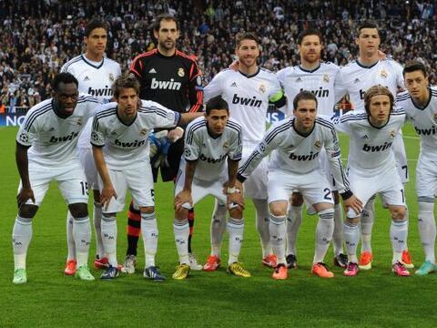 El estadio Santiago Bernabéu era testigo de cómo el Real M...