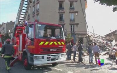 Francia busca sobrevivientes de una explosión