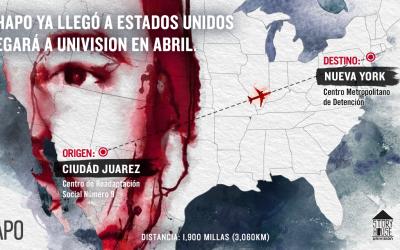 'El Chapo' Guzmán llegará a Univision en abril