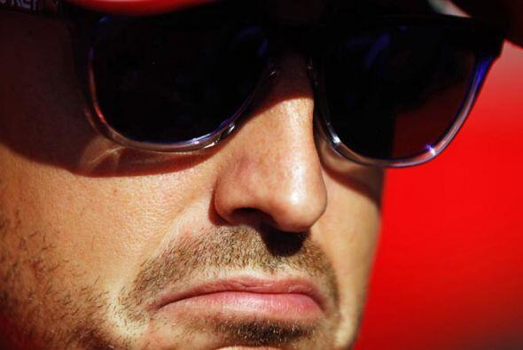 Alonso no pudo ocultar su frustración tras el cuarto lugar en el...