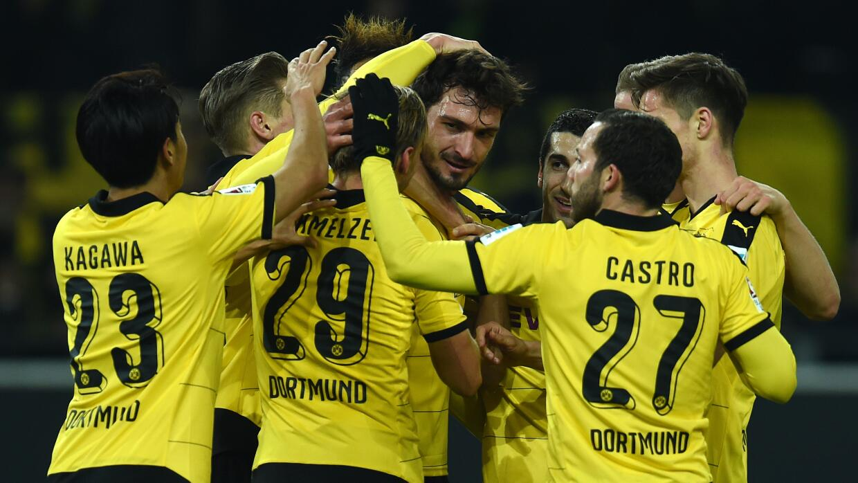 Borussia Dortmund remonta al Frankfurt