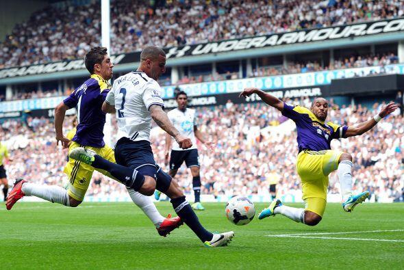 No hubo tiempo de más y el Swansea cayó en la casa del Tottenham, pese a...