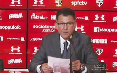 Juan Carlos Osorio hizo oficial su contratación como nuevo DT de México