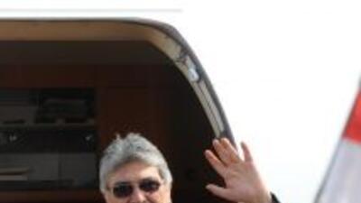 El presidente de Paraguay, Fernando Lugo, llegó a una clínica de Brasil...