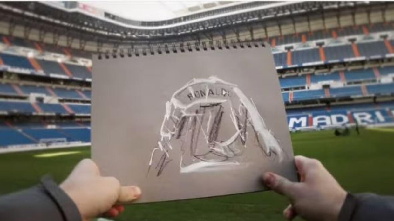 Con una serie de dibujos recrearon su paso por el United y por el Real M...