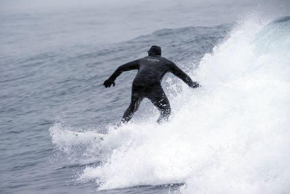 """""""He observado a los surfistas aquí muchas veces, pero nunca..."""