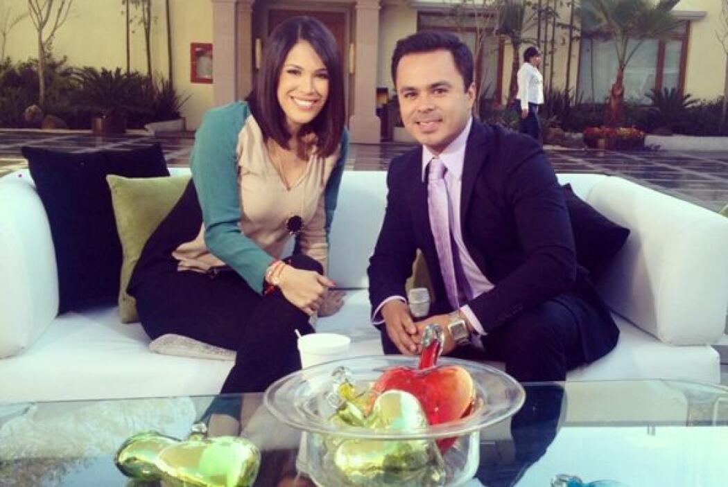 Karla Martínez la pasó muy bien en Televisa pues siempre se le vio sonri...