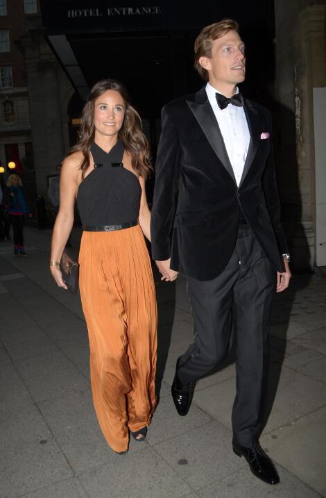 Aquí fotos de Pippa con su ex, Nico Jackson.