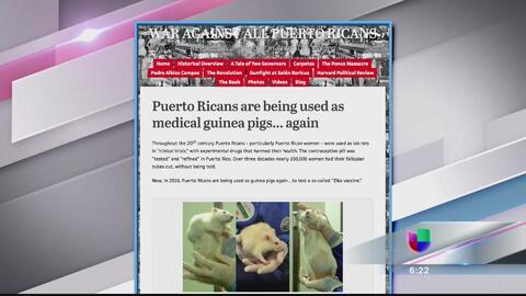 ¿Usan a los puertorriqueños como conejillos de indias en vacunas contra...