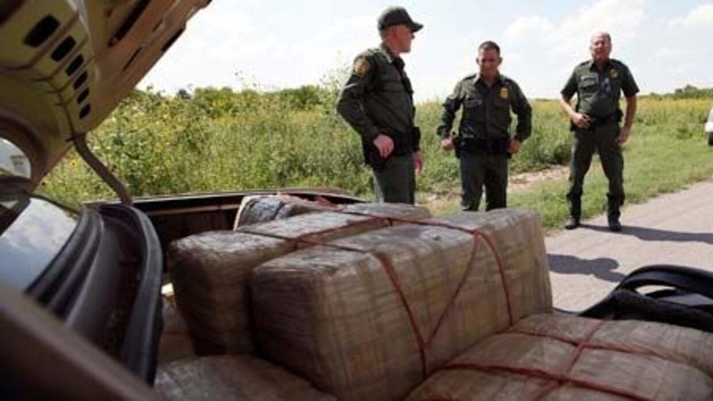 Agentes de la Patrulla Fronteriza señalaron que el desarrollo de la infr...