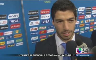 Luis Suárez pagó caro por el 'mordisco'