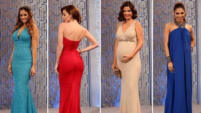 Nuestras bellezas lucieron sus curvas latinas en la alfombra magenta de...