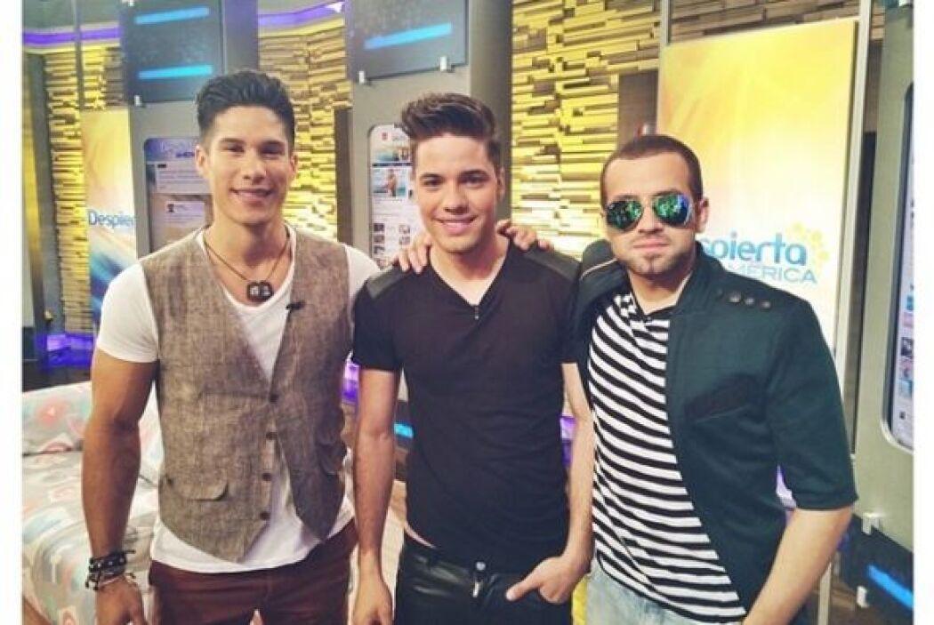 """""""Mi primera entrevista para la televisión fue con este dúo @chinoynacho,..."""