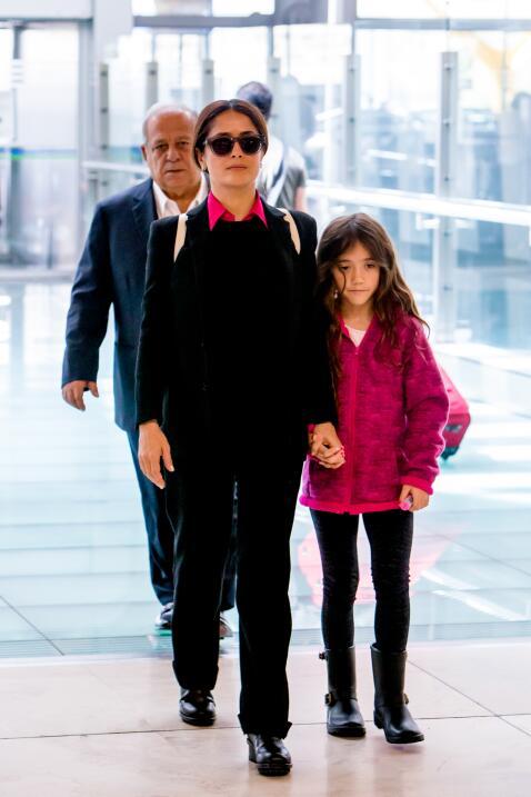 Salma Hayek y su hija Valentina
