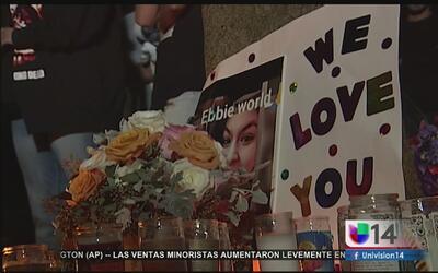 Recuerdan a joven embarazada que murió baleada por la policía