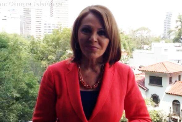 La periodista María Elena Salinas entrevistó al presidente...