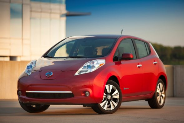 Nissan sigue cosechando éxitos con su auto eléctrico LEAF que cada vez e...