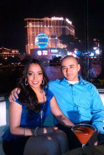 Ellos fueron los afurtunados en vivir su Luna de Miel en Las Vegas graci...