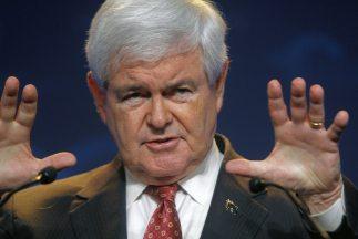 El aspirante presidencial Newt Gingrich no se rinde y apuesta a la Conve...