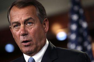 John Boehner anunció que su partido había dado a conocer un borrador que...