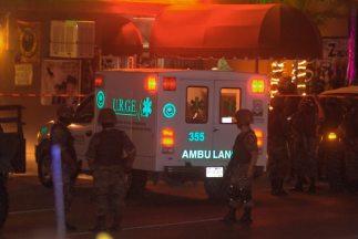 Las autoridades indicaron en un comunicado que tres personas resultaron...
