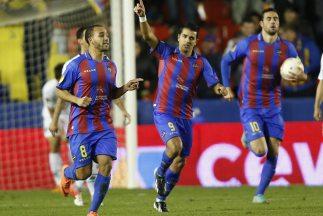 El Zhar marcó uno de los goles del Levante.