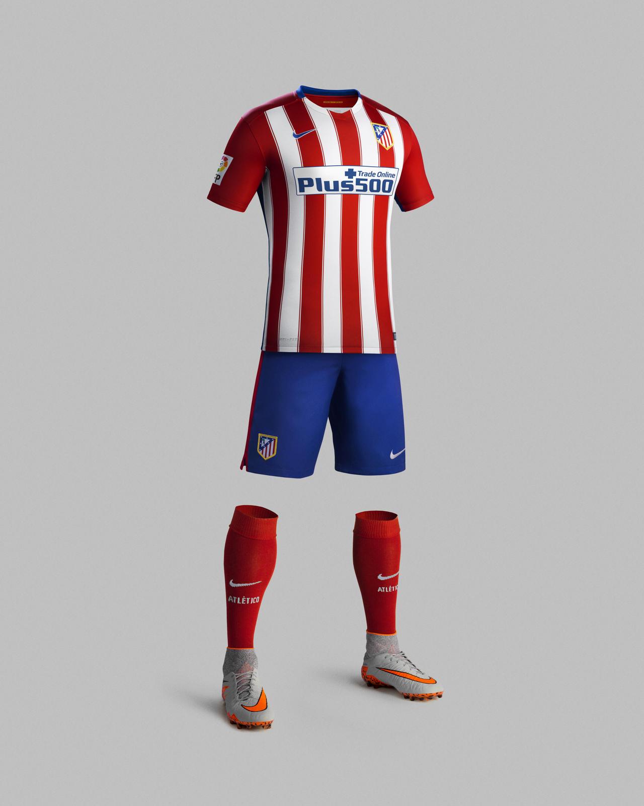 traje Atlético de Madrid manga larga